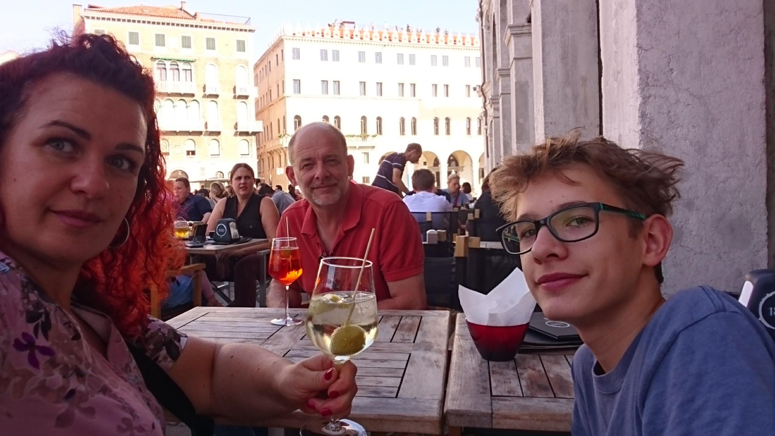 Spritz Aperol in Venedig